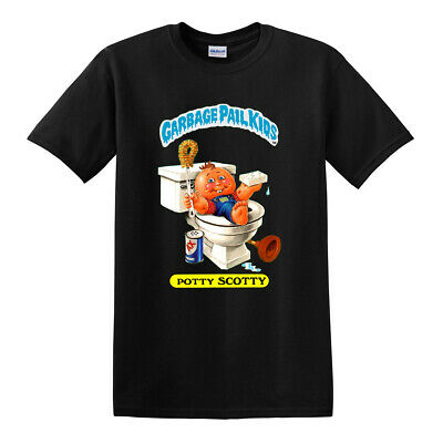 Garbage Pail Kids Shirt - POTTY SCOTTY - GPK OS1 1980s Tee T Shirts (S - 3XL)
