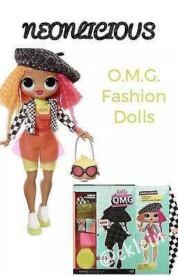 LOL Surprise OMG Fashion Dolls 20 Surprises *NEONLICIOUS*