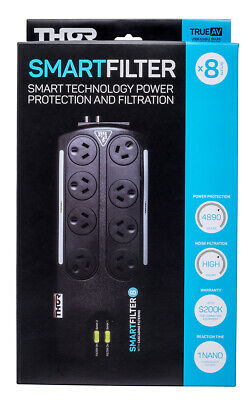 Thor Smart Filter 8 way Surge Protection