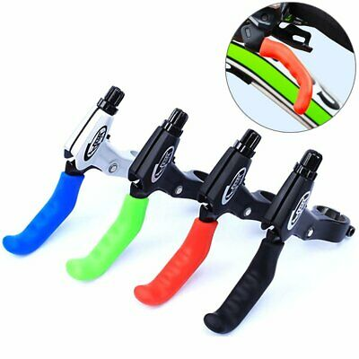 1Pair MTB Hydrid Bike Bicycle Cycling Silicone Brake Cover Lever Grips Protector