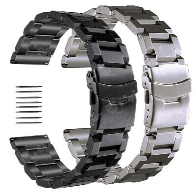 18 20 22 23 24 25mm Stainless Steel Watch Band Strap For Invicta Men's Watch