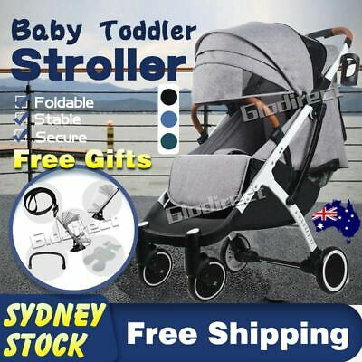 Baby Pram Stroller Travel Compact Lightweight Foldable Plane Carry On AU 2019