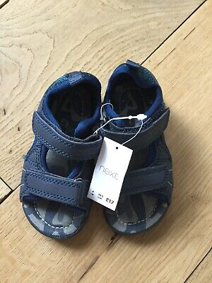 Brand New With Tags Next Baby Boys Sandals Size 4 Infant