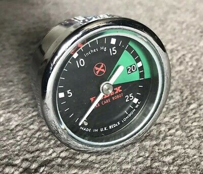 Redex Vacuum Gauge - Reconditioned 52mm Diameter Tested