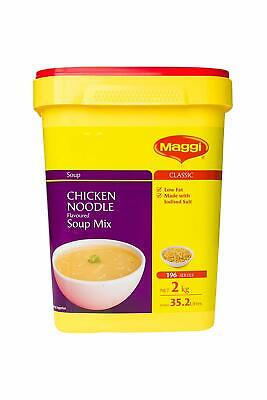 MAGGI Chicken Noodle Flavoured Soup Mix - 2kg - Free Delivery - Fast - New