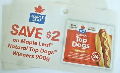 Save On Maple Leaf Natural Top Dog Wiener Products