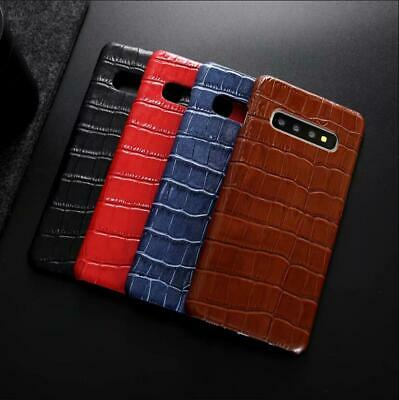 Luxury Real Leather Case For Samsung Galaxy Note10+ Note 8 9 10 S9 Plus S9+ S10+