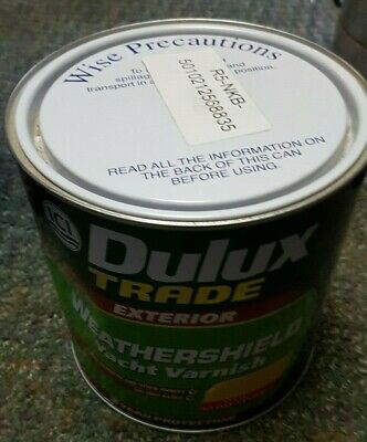 Dulux Trade Clear Yacht Varnish - Gloss - 1L & 2.5L - FREE DELIVERY