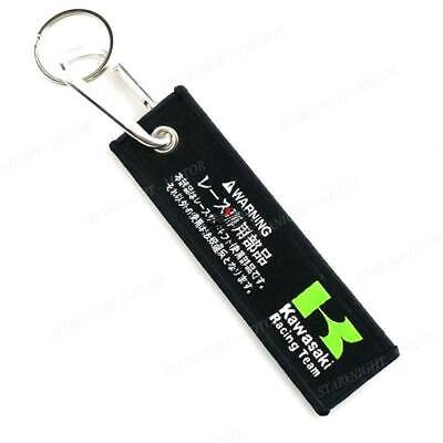 Motorcycles Keychains For Kawasaki Double Side Logo Tag Vest Jeans Biker Race