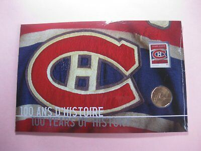 2009 $1 Montreal Canadiens 100th Anniversary Pack