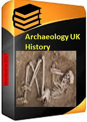 Archaeology of UK 90 + pdf ebooks for PC & also mobi formats for kindle on disc