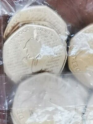 2019 SHERLOCK HOLMES 50p ROYAL MINT UNCIRCULATED FROM SEALED BAG