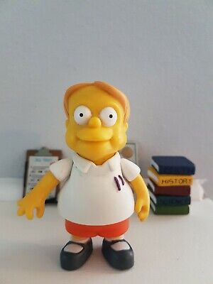 2001 Martin Prince Interactive Figure Loose Complete The Simpsons WOS Playmates
