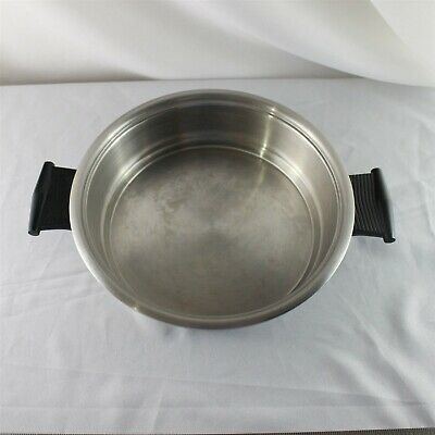 """Rena Ware Stainless 18/8 Fry Saute Pan Ultra 5 Ply Multi Ply 1.5 L 7"""" Skillet"""