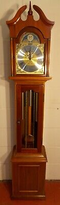 Grandmother Clock- Exc Con/Hermle Triple Chimes/NATIONWIDE PERSONAL DELIVERIES