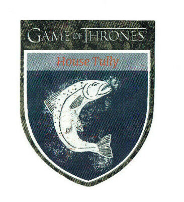 Game of Thrones Season 1 One Sigil Banner Die Cut Card H4 House Tully