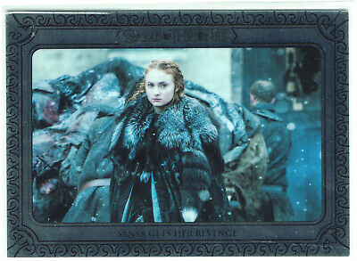 Game of Thrones Inflexions Silver Parallel 122 Sansa Gets Her Revenge #59/75