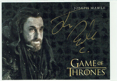 Game of Thrones Inflexions Gold Autograph Card Joseph Mawle as Benjen Stark