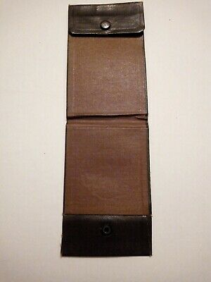 Antique Victorian calling card wallet The National City Bank of New York