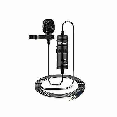 Boya BY-M1 Lavalier Microphone for Camera NEW