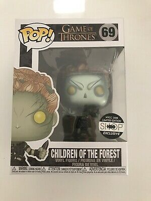 Funko Pop Game of Thrones Children of the Forest Metallic #69 HBO Exclusive NYCC