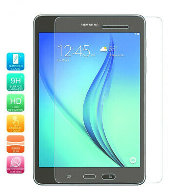 2-Pack Premium Tempered Glass Screen Protector For Samsung Galaxy Tab A 8.0 2015