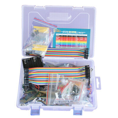 BU_ AU_ Program Starter Learning Kit Set for Arduino UNO R3 LCD1602 Processing F