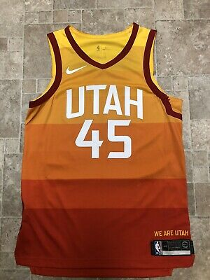 the latest 55a23 0f6f5 DONOVAN MITCHELL CITY Edition Jersey Utah Jazz Size M 48 ...