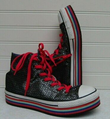 CONVERSE ALL STAR Junior Bambina Scarpa Sneaker Casual Art