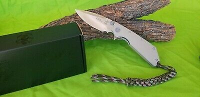 """Angry Anchor Knife & Tool AAKT """"DEVIL DOG"""" Desert Tan G10 CTS-XHP made in USA"""