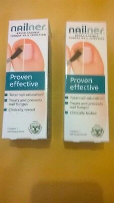 2 x Nailner Brush Against Fungal Nail Infection 5 ml (10 ml in total) 05/2021