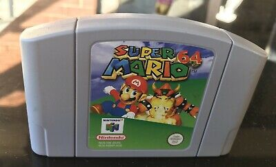 SUPER MARIO 64 Nintendo 64 Game Cart N64
