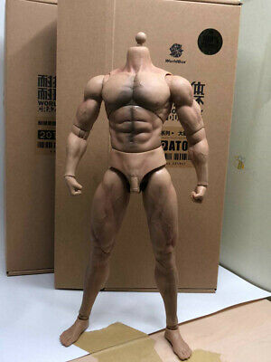 WORLDBOX Nude Figure Durable Body Rippled AT027 1//6 ACTION FIGURE TOYS