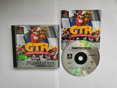 Crash Team Racing CTR Sony PlayStation one 1 Ps1 PS 1 PSONE PSX Naughty Dog Pal