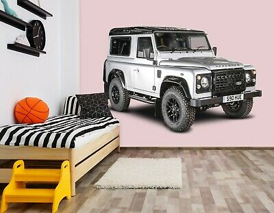 3D Land Rover Defend I101 Car Wallpaper Mural Poster Transport Wall Stickers An