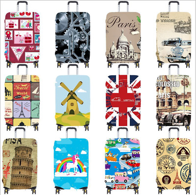"18"" - 32"" Protective Luggage Suitcase Dust Cover Protector Elastic Anti Scratch"
