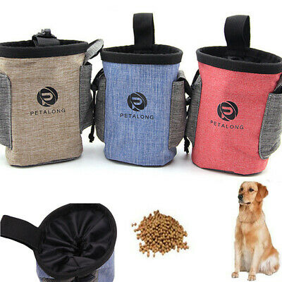 Pet Dog Puppy Training Treat Snack Bait Obedience Agility Pouch Food Bag Pocket