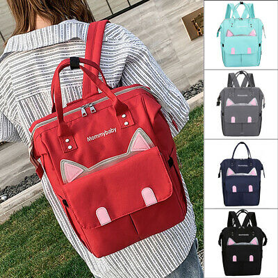 Mummy Maternity Baby Nappy Diaper Bag Large Capacity Travel Backpack Handbag