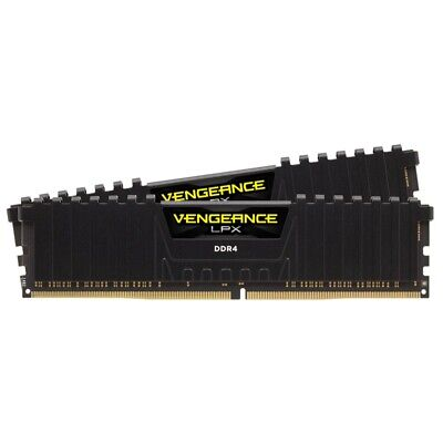 Corsair 16GB 2x 8GB Vengeance LPX DDR4 3200MHz C16 Desktop Gaming Memory Black