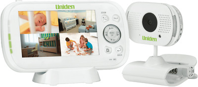 """NEW Uniden BW3101 Wireless Baby Monitor with 4.3"""" Display"""
