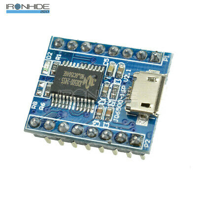 JQ6500 Voice Sound Module USB Replace One to 5 Way MP3 Voice Standard