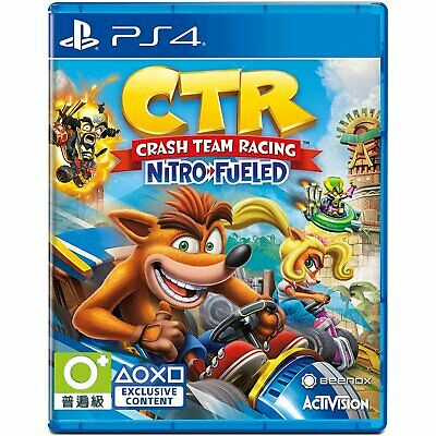 Crash Team Racing : Nitro-Fueled For Sony Playstation 4 PS4 (English Sub)