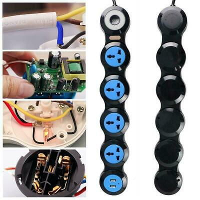 Universal Multi-function Plug Deformation Flexible Power Strip Wiring Board