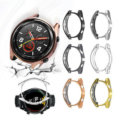 Silicone Shell TPU Watch Case Holder Skin Protective Cover For Huawei Watch GT
