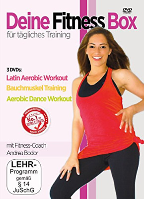 Various-Die Fitness Box F?r T?gliches Training (3 (UK IMPORT) DVD [REGION 2] NEW