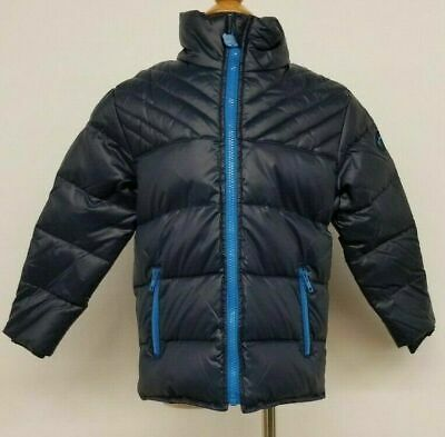 Appaman Kids Toddlers Bomber Jacket Coat Duck Down Feather Fill Navy Blue