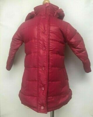 Appaman Kids Hooded Bomber Jacket Coat Duck Down Feather Fill Pink Gray Grey
