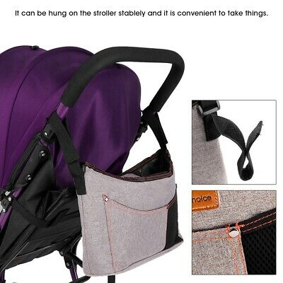 Stroller Organizer Large Capacity Diaper Bags Carriage Storage Packag Newest