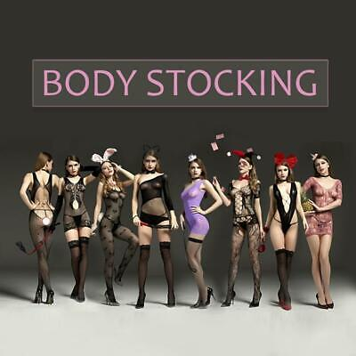 Sexy Lingerie Body-stocking Bodysuit Dress Catsuit Cosplay collant de corps