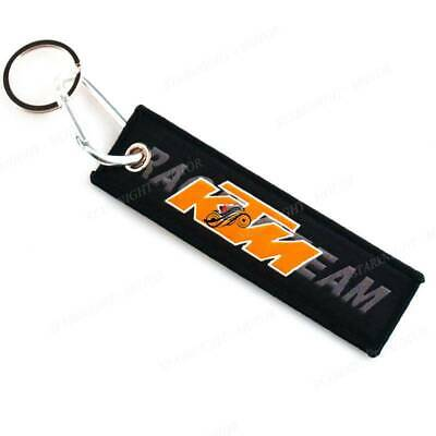 MOTORCYCLE KEYCHAIN FOR Kawasaki Double Side Embroidery Tag